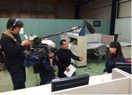 デジタコ&物流情報システム開発のフルバック@テレビ取材